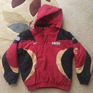 Mens San Fransisco 49ers Starter Pullover (Rare)